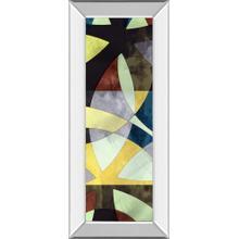 """Elliptic Path I"" By James Burghardt Mirror Framed Print Wall Art"