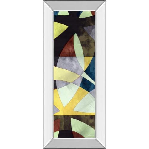 "Classy Art - ""Elliptic Path I"" By James Burghardt Mirror Framed Print Wall Art"