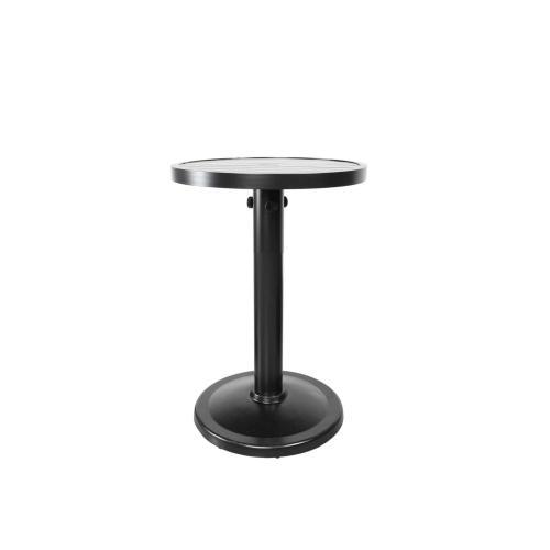 "Monaco 24"" Round Pedestal Balcony Table"