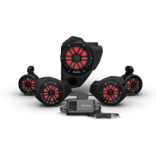 View Product - Ride Command® 2-Way Interface, 800 Watt, Front Color Optix™ Speaker, Subwoofer & Rear Speaker Kit for Select Polaris® RZR® Models (Gen-3)