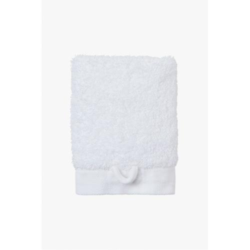 Cumulus Terry Wash Towel in White