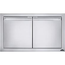 "30"" x 16"" Small Double Door , Stainless Steel"