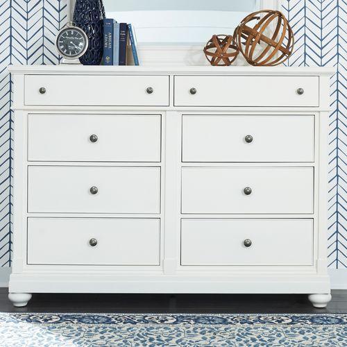 Liberty Furniture Industries - 8 Drawer Bureau