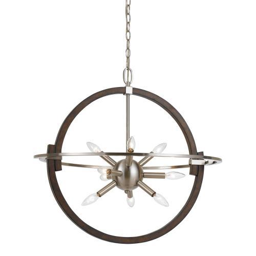 Cal Lighting & Accessories - 60W X 9 Cicero Pendant Fixture