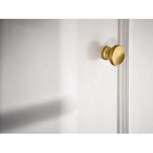 Colinet brushed gold drawer knob