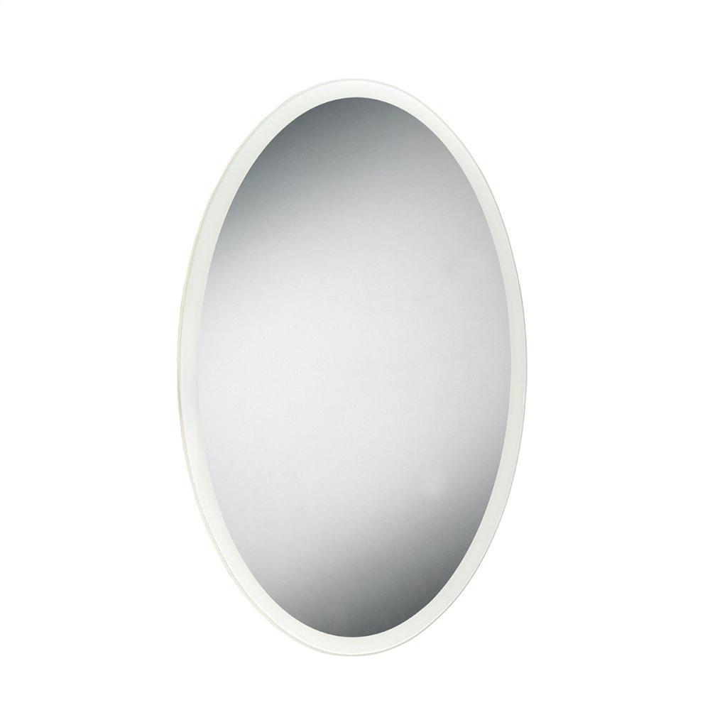"""See Details - 24""""W X 36""""H OVAL MIRROR"""
