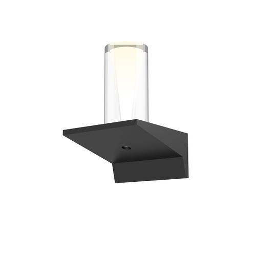 "Sonneman - A Way of Light - Votives LED Sconce [Color/Finish=Satin Black, Shade Size=4"" height x 2"" diameter]"