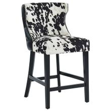 Angus 26'' Counter Stool, set of 2 in Black