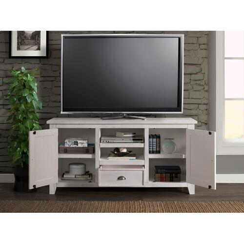 TV Stand - White Stain