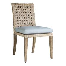 Leeward Woven Cane Side Chair in Leeward Finish