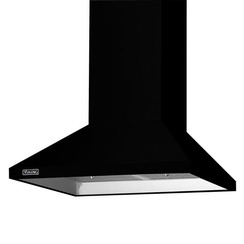 "36"" Wide Chimney Wall Hood + Ventilator - RVCH Viking Product Line"
