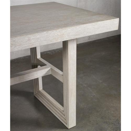 Cascade - Rectangular Counter Height Dining Table Top - Dovetail Finish