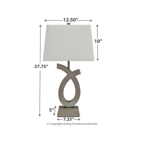 Signature Design By Ashley - Amayeta Table Lamp (set of 2)