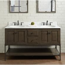 """View Product - Toledo 60"""" Double Bowl Vanity - Door"""