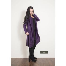 WB Long Cord/Lace Jacket - Fern (2 pc. ppk.)