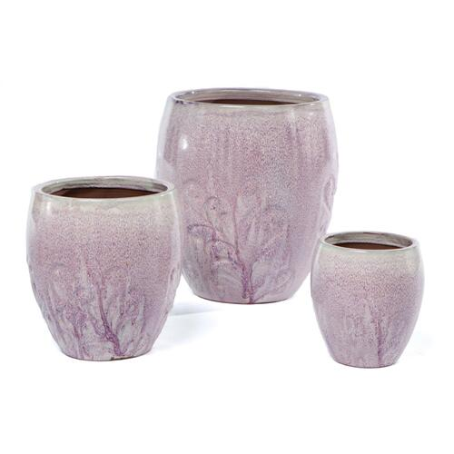 Dawn Mist Planter - Set of 3