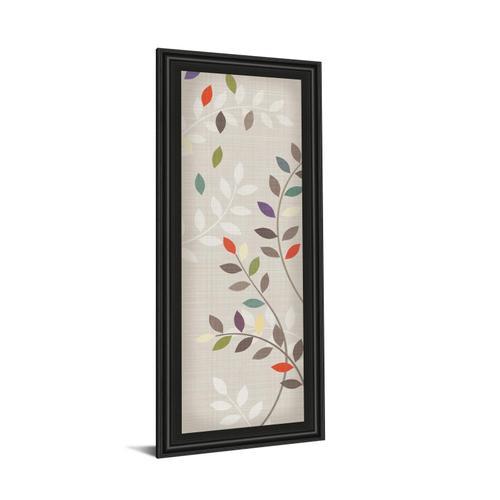 "Classy Art - ""Leaflets"" By Tandi Venter Framed Print Wall Art"
