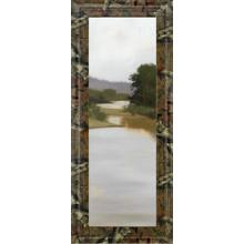 """River Journey"" By Megan Lightell Framed Print Wall Art"
