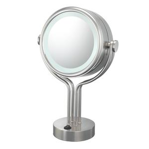 71405 Contemporary Four Post Vanity Mirror Product Image