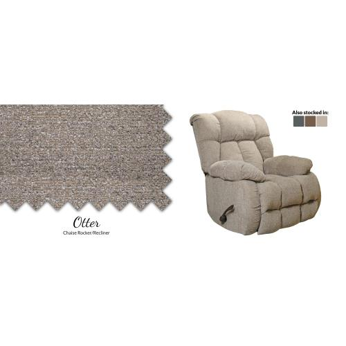 American Wholesale Furniture - Otter Chaise Rocker/Recliner