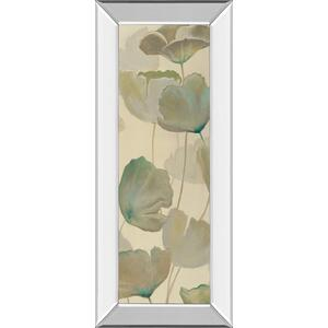 "Classy Art - ""Poppy Impression Panel 2 "" By George Generali Mirror Framed Print Wall Art"
