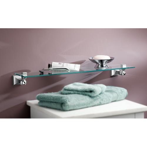 Product Image - Retreat Chrome vanity shelf