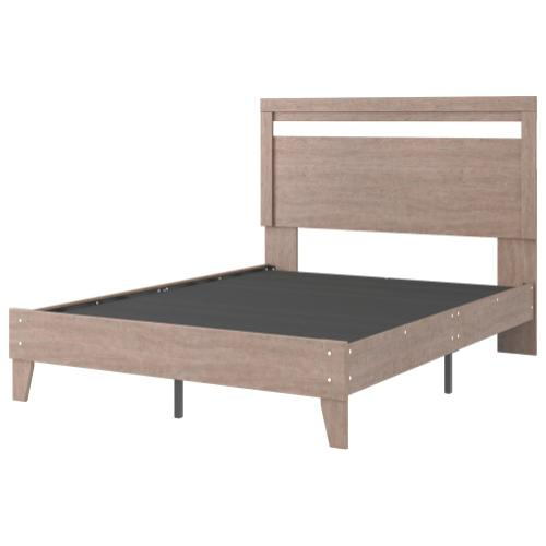 Flannia Queen Panel Platform Bed