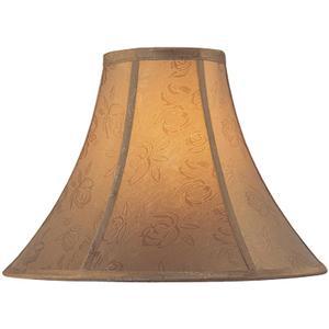 "Jacquard Bell Shade - 6""tx16""bx12""sl"