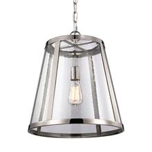 Harrow Medium Pendant Polished Nickel