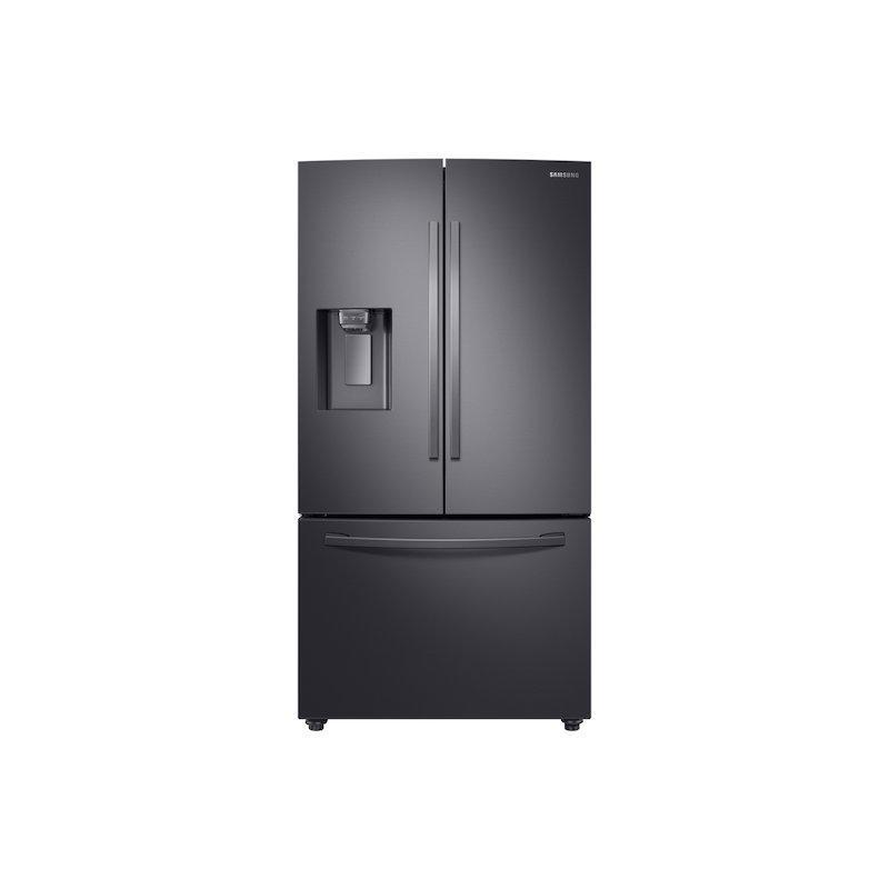 23 cu. ft. 3-Door French Door, Counter Depth Refrigerator with CoolSelect Pantry™ in Black Stainless Steel