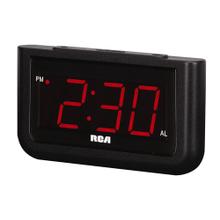"See Details - RCA Digital Alarm Clock with Large 1.4"" Display"