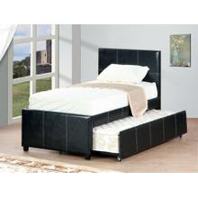 See Details - Twin Trundle Bed Espresso