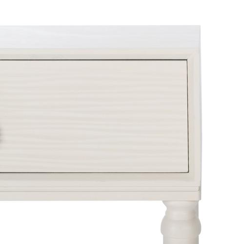 Safavieh - Aliyah 2 Drawer Console Table - Distressed White