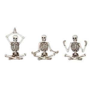 Zen Skeleton Figurines (6 pc. ppk.)