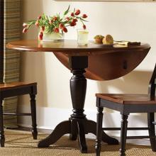 View Product - Drop Leaf Pedestal Table Base