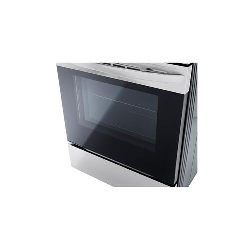 LG 6.3 cu ft. Smart Wi-Fi Enabled Fan Convection Electric Range with Air Fry & EasyClean®