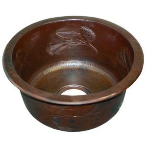Pinecones in Antique Copper Product Image