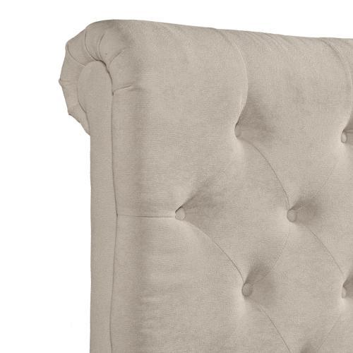 Elements - Waldorf King Storage Bed Boulder Sand