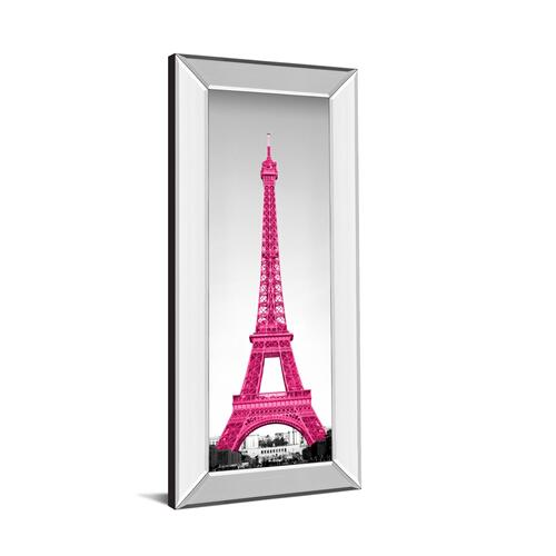"""Pretty In Paris"" By Emily Navas Mirror Framed Print Wall Art"