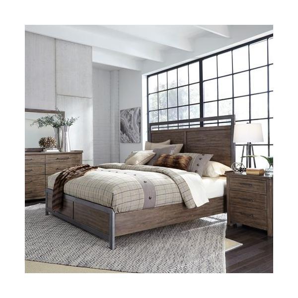 See Details - Queen Panel Bed, Dresser & Mirror, Night Stand