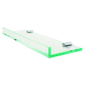 "Pombo Archis Glass Shelf, 28"""