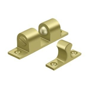 """Deltana - Ball Tension Catch 3"""" x 3/4"""" - Polished Brass"""