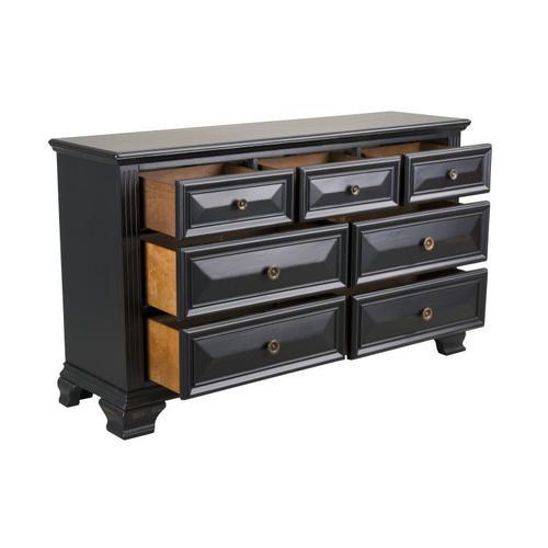 Passages 7-Drawer Dresser, Vintage Black