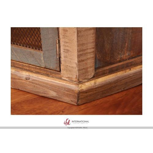 2 Door Corner TV-Stand - Multicolor finish