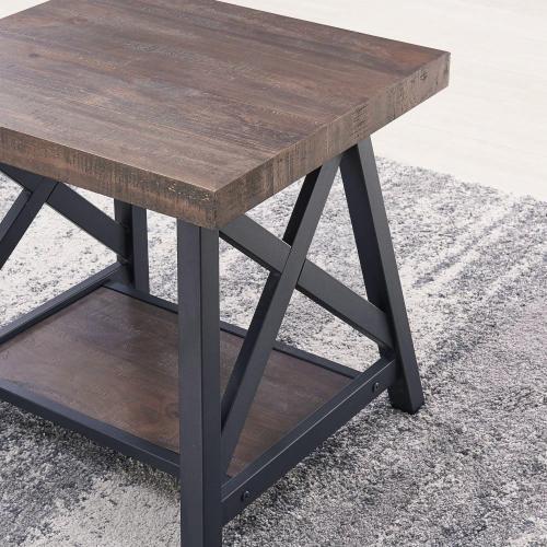 Langport Coffee Table in Rustic Oak