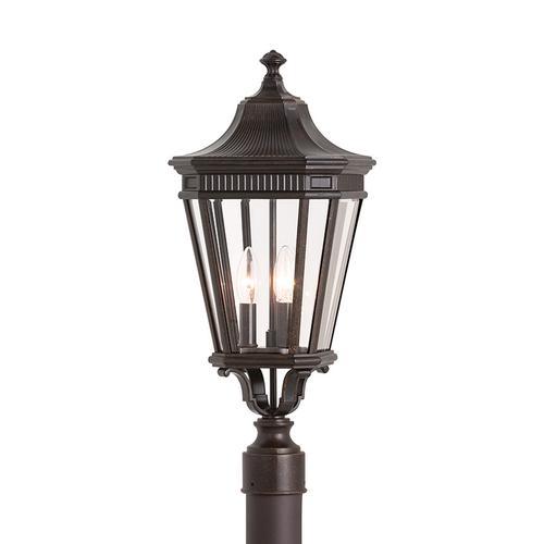 Product Image - Cotswold Lane Small Post Lantern Grecian Bronze