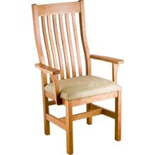 Marshall Arm Chair - Upholstered Seat