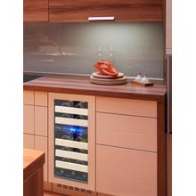 View Product - Vinotemp 15-Inch Panel-Ready Wine Cooler