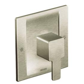 90 Degree brushed nickel posi-temp® valve trim