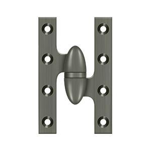 "Deltana - 5"" x 3-1/4"" Hinge - Antique Nickel"